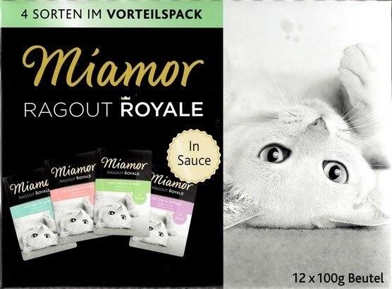 Karmy mokre dla kota - Miamor Ragout Royale Mix w sosie 12x100g