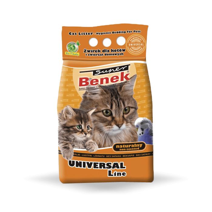 żwirek dla kota - Żwirek Super Benek Uniwersalny