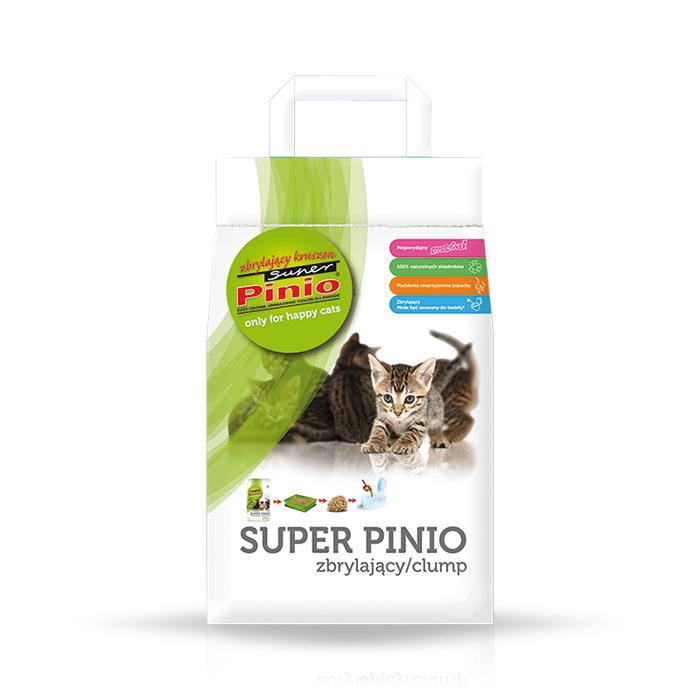 żwirek dla kota - Żwirek Super Pinio Kruszon