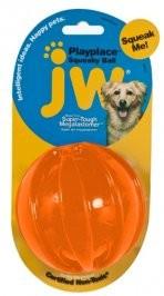 Zabawki - JW Pet Squeaky Ball Small