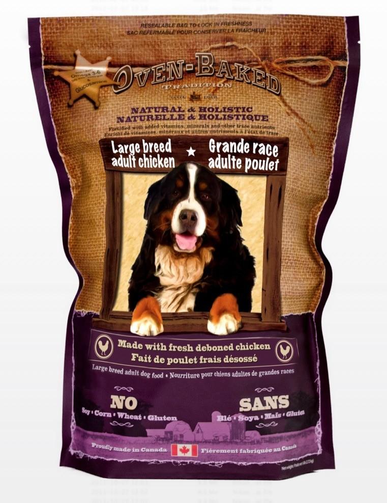 Karmy suche dla psa - Oven Baked Tradition dla dużych ras 12,25kg