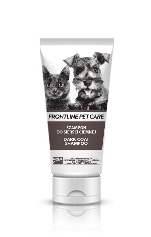 Higiena, pielęgnacja sierści - Frontline Szampon Pet Care Dark Coat 200ml