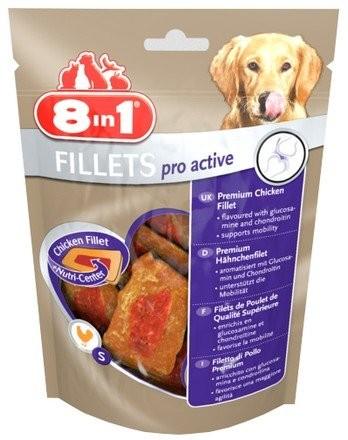 Przysmaki dla psa - 8in1 Fillets Pro Active S - przekąska na stawy 80g