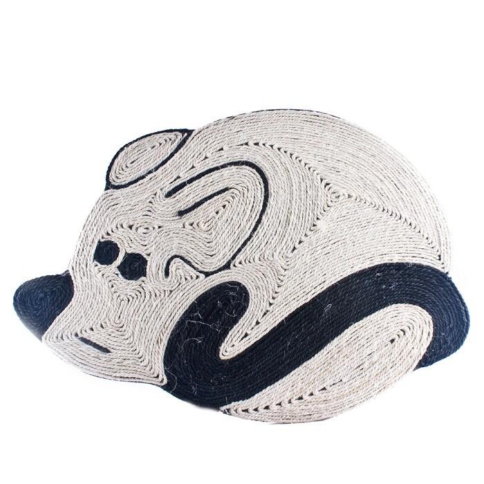 Drapaki, tunele dla kota - Trixie Drapak mata mysz 56x40cm