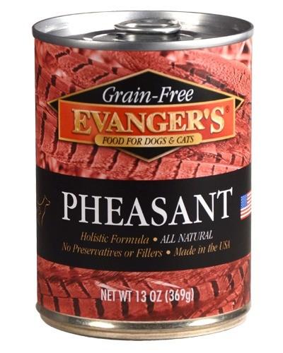 Karmy mokre dla psa - Evanger's Grain Free bażant 400g