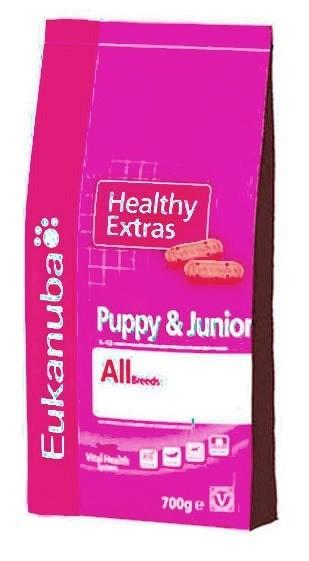 Przysmaki dla psa - Eukanuba Healthy Extras Puppy & Junior 700g