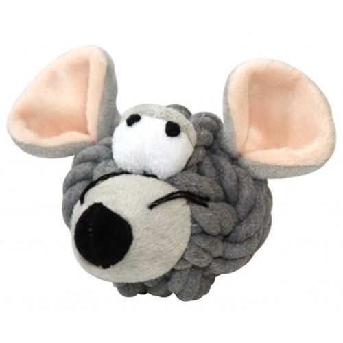 Zabawki - HappyPet Myszka ze sznura 9cm