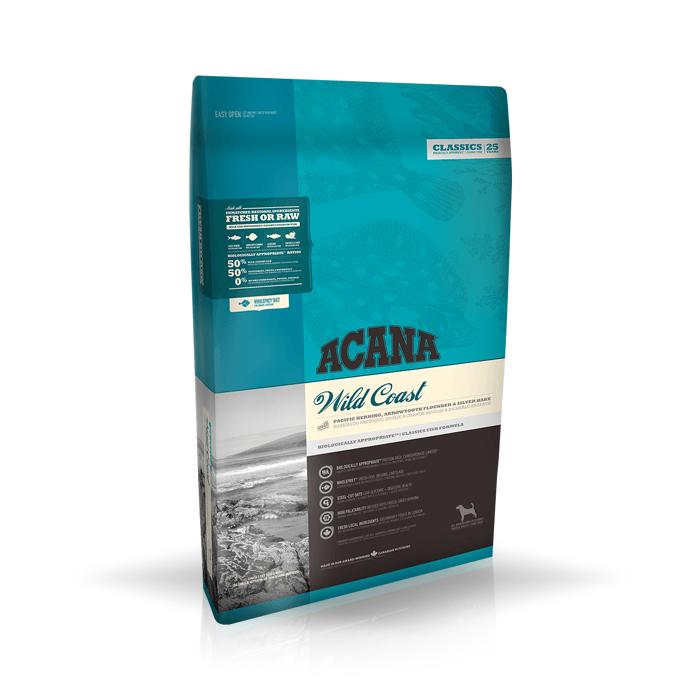 Karmy suche dla psa - Acana Classics Wild Coast