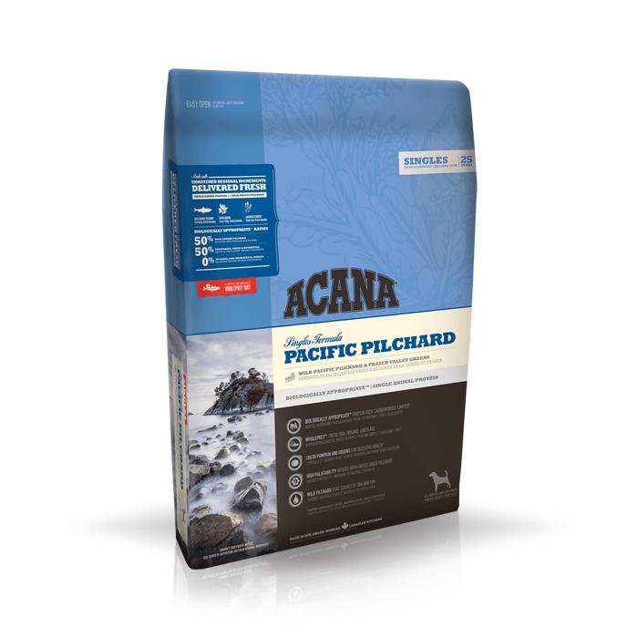 Karmy suche dla psa - Acana Singles Pacific Pilchard
