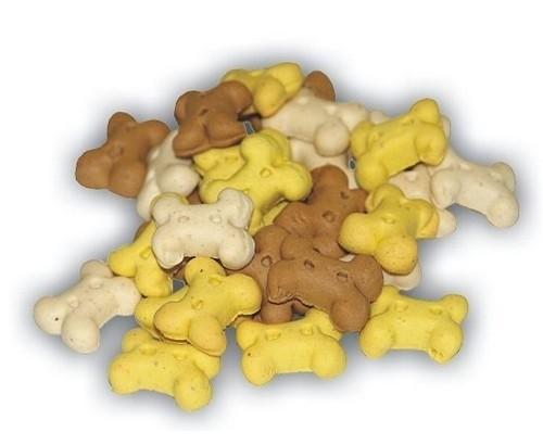 Przysmaki dla psa - AdBi Ciastka Puppy kostki mix 1kg