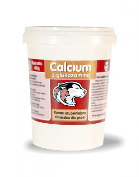 Suplementy - Calcium czerwony z wapniem i fosforem 400g