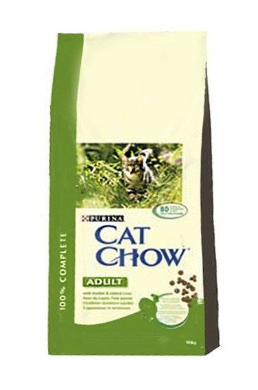 Karmy suche dla kota - Cat Chow Adult Rabbit 1,5kg