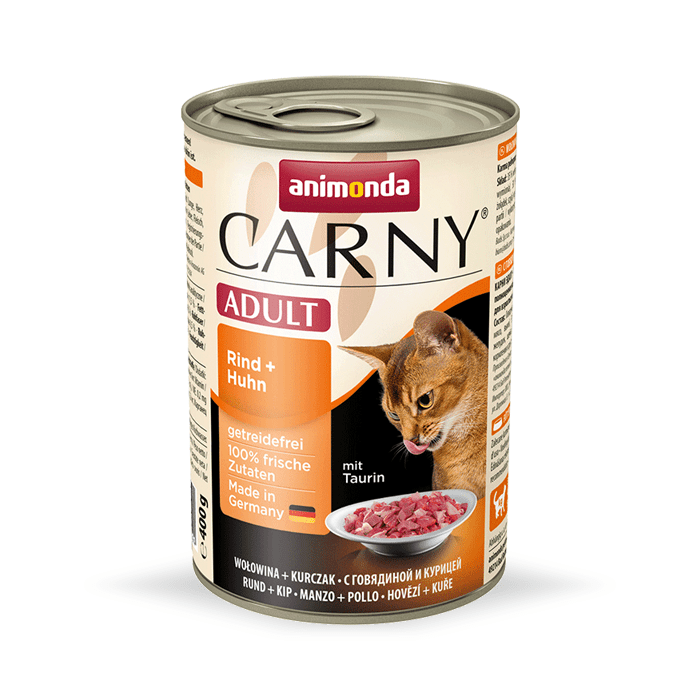 Karmy mokre dla kota - Animonda Carny Adult 400g x 4