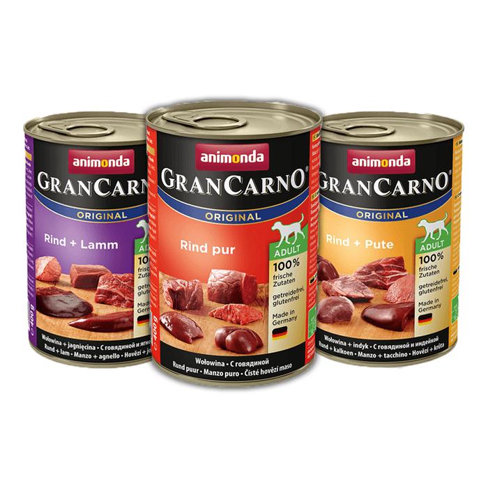 Karmy mokre dla psa - Animonda GranCarno Original Adult mix 3 smaków 400g x 30
