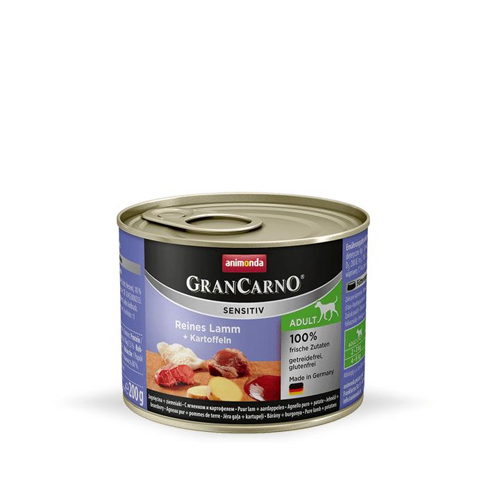 Karmy mokre dla psa - Animonda GranCarno Sensitiv 200g x 4
