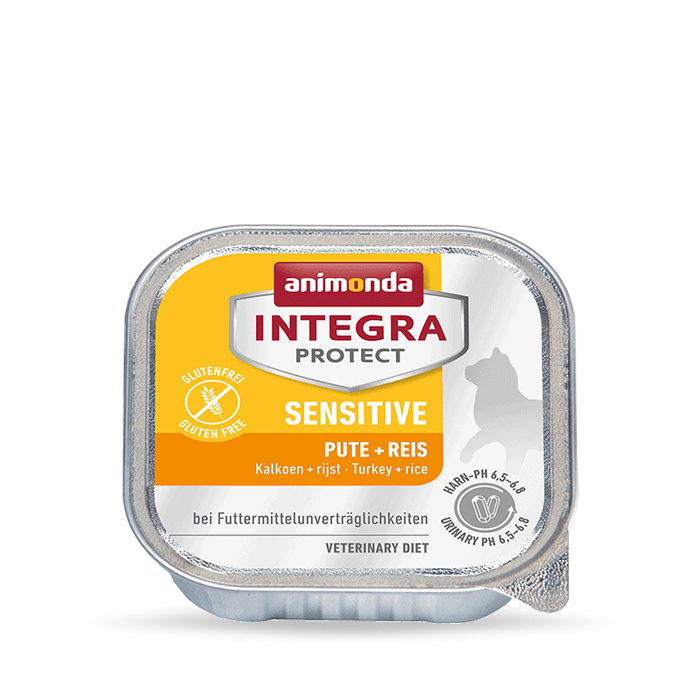 Karmy mokre dla kota - Animonda Integra Protect Sensitive 100g x 12