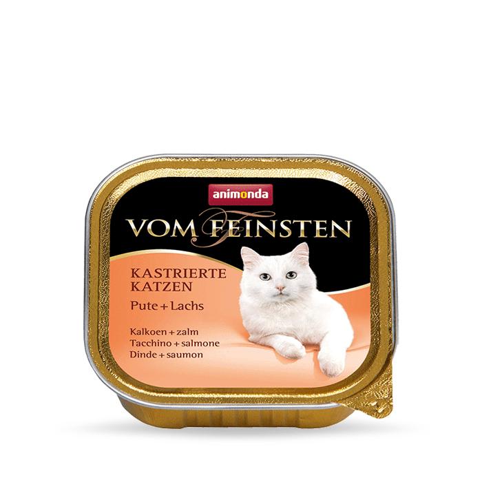 Karmy mokre dla kota - Animonda vom Feinsten dla kastratów 100g x 12