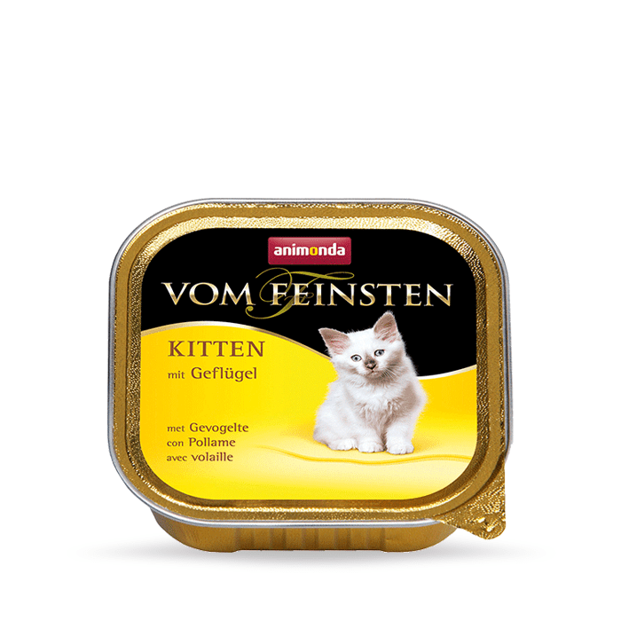 Karmy mokre dla kota - Animonda vom Feinsten Kitten 100g x 12