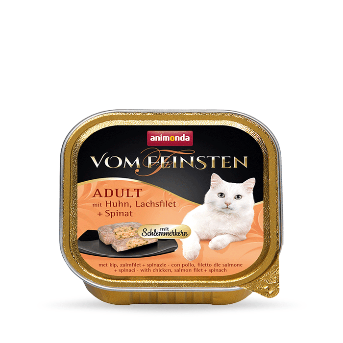 Karmy mokre dla kota - Animonda vom Feinsten Pate 100g x 12