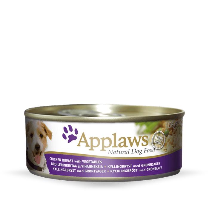 Karmy mokre dla psa - Applaws Dog puszka 156g x 4