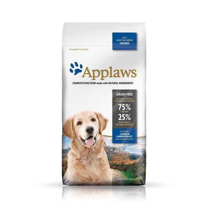Karmy suche dla psa - Applaws Adult Dog Lite Light