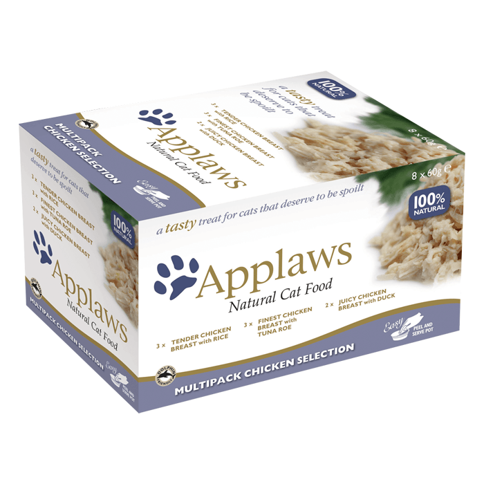 Karmy mokre dla kota - Applaws Cat Chicken Selection 60g x 8 (multipak x 1)