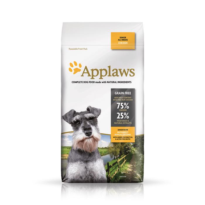 Karmy suche dla psa - Applaws Senior Dog