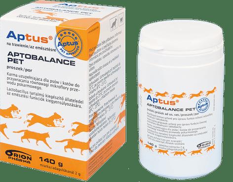 Suplementy - Aptus Aptobalance pet karma uzupełniająca dla psów i kotów 140g