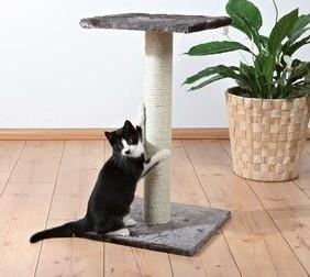 Drapaki, tunele dla kota - Trixie Drapak Espejo szary 69cm