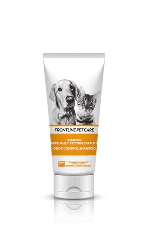 Higiena, pielęgnacja sierści - Frontline Szampon Pet Care Odor Control 200ml
