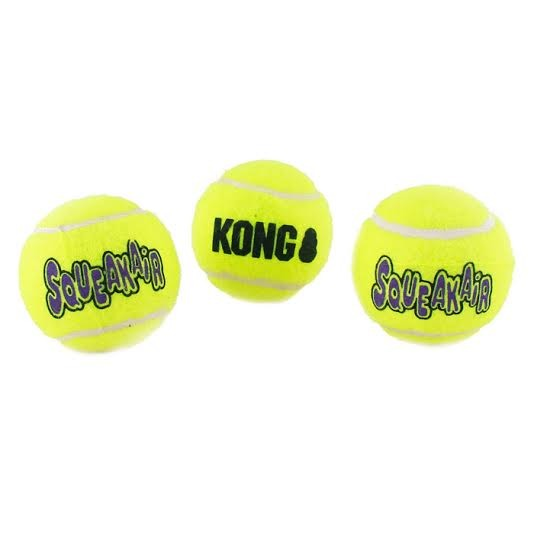 Zabawki - Kong Air Squeaker - Piłka Tenisowa