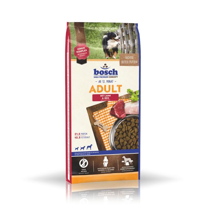 Karmy suche dla psa - Bosch Adult Lamb & Rice 15kg