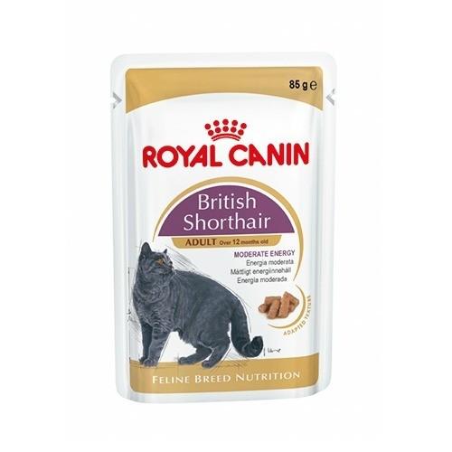 Karmy mokre dla kota - Royal Canin British Shorthair 6x85g