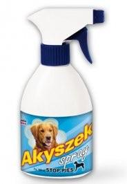 Produkty higieniczne - Certech Akyszek Odstraszacz dla psów spray 400ml