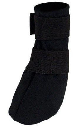 Ubranka dla psa - Grande Finale But Softshell na chorą łapę r.5 - 10cm czarny