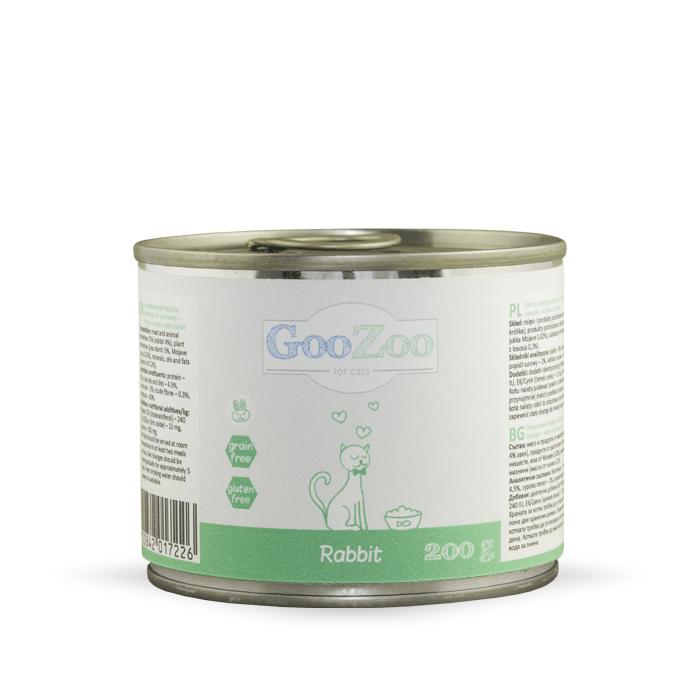 Karmy mokre dla kota - Goozoo bez zbóż 200g x 4
