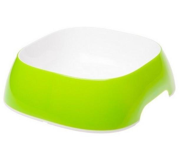 Miski i akcesoria do misek - Ferplast Miska Design zielona L