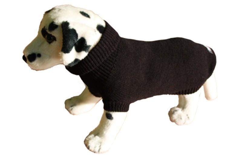 Ubranka dla psa - Chaba Golf czarny [rozmiar 5] 46cm