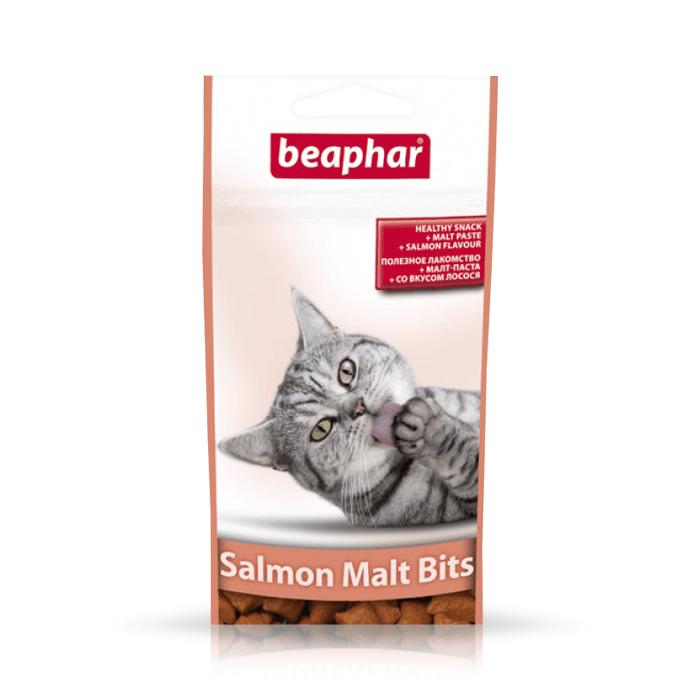 Przysmaki dla kota - Beaphar Salmon Bits + Malt pasta łososiowa 35g