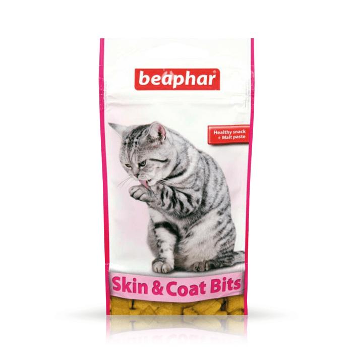 Przysmaki dla kota - Beaphar Skin & Coat Bits 35g