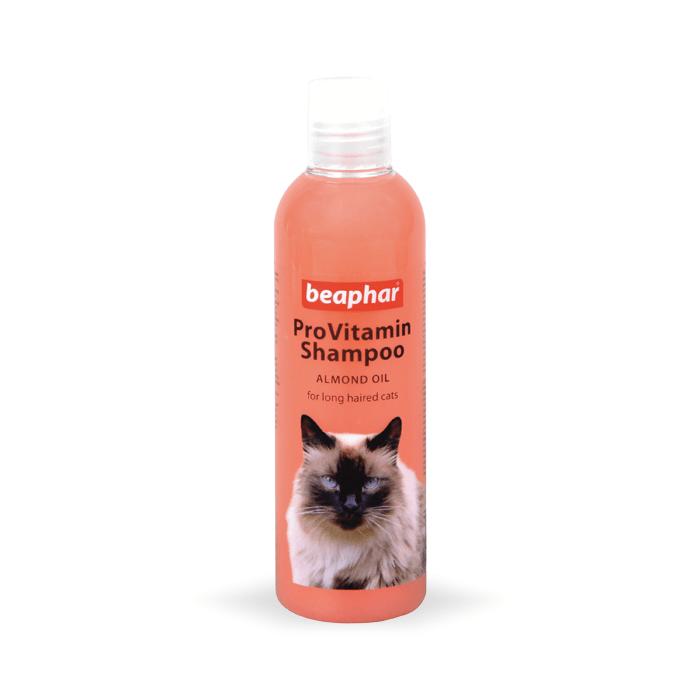 Higiena, pielęgnacja sierści - Beaphar szampon dla kotów długowłosych 250ml