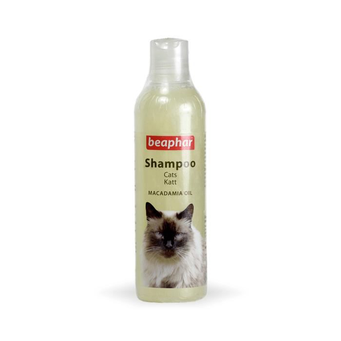 Higiena, pielęgnacja sierści - Beaphar szampon z olejem macadamia dla kota 250ml