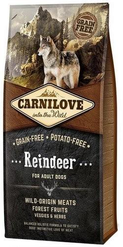 Karmy suche dla psa - Carnilove Reindeer Adult - renifer