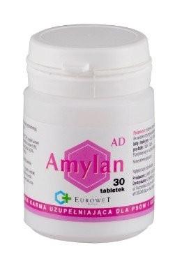 Suplementy - Amylan AD na zaburzenia trawienia 30 tabl.
