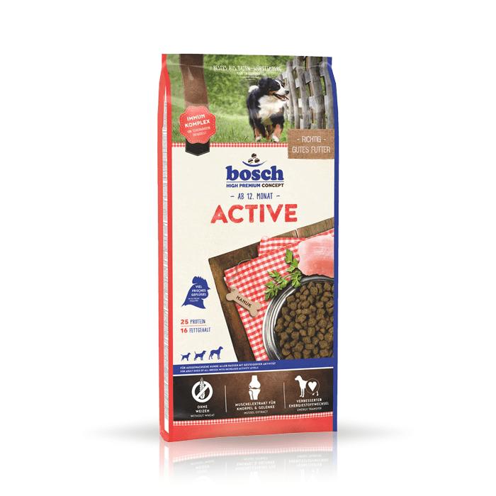 Karmy suche dla psa - Bosch Adult Active