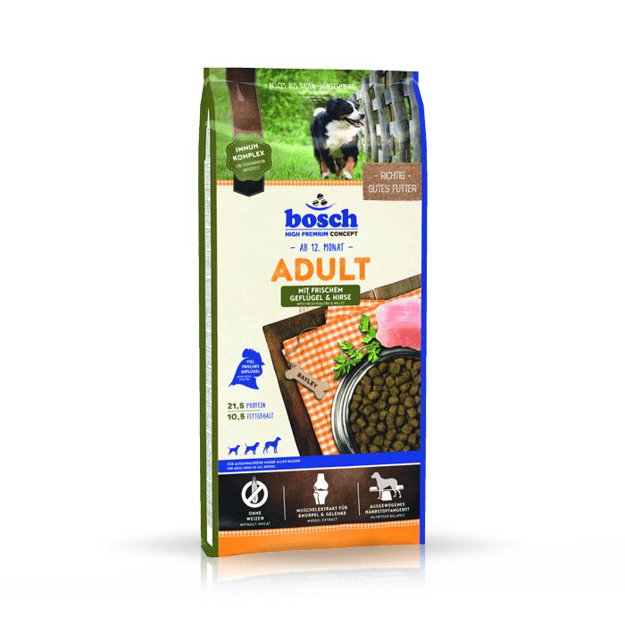 Karmy suche dla psa - Bosch Adult Drób i Proso