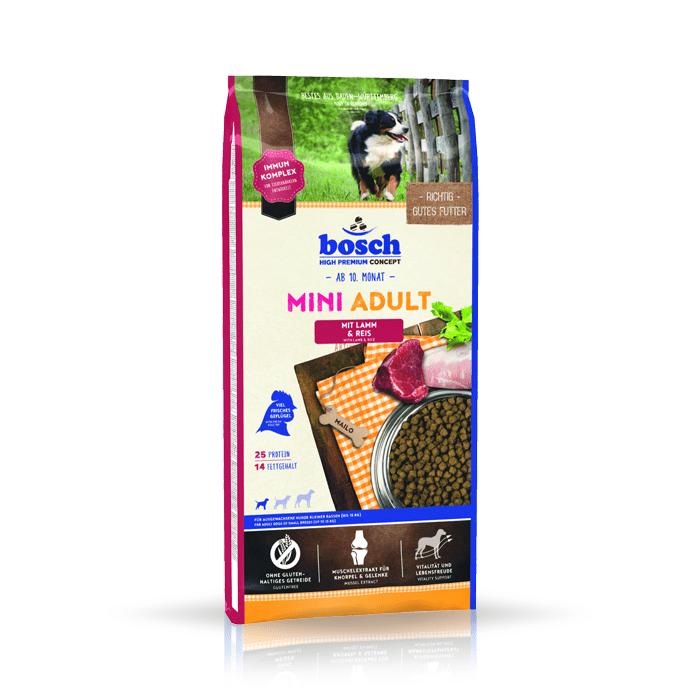 Karmy suche dla psa - Bosch Adult Mini Lamb