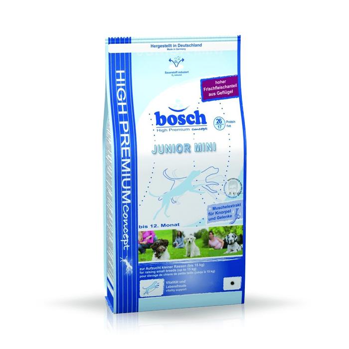 Karmy suche dla psa - Bosch Junior Mini 15kg