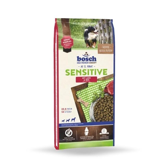 Karmy suche dla psa - Bosch Sensitive Lamb and Rice