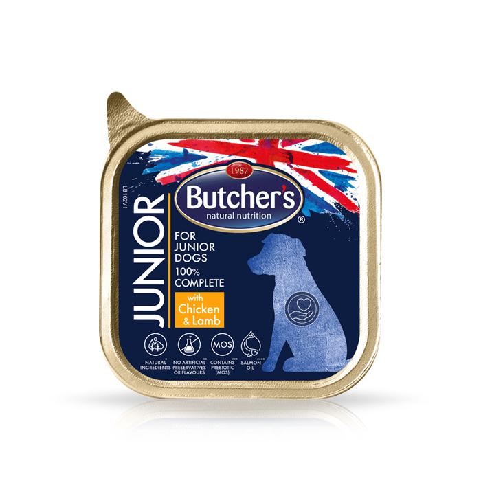 Karmy mokre dla psa - Butcher's Functional Dog Junior pasztet 150g x 12